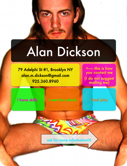 alan rules awesome resume