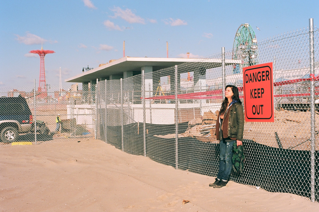 Danica | Coney Island | Exposing Sandy photograph by alan